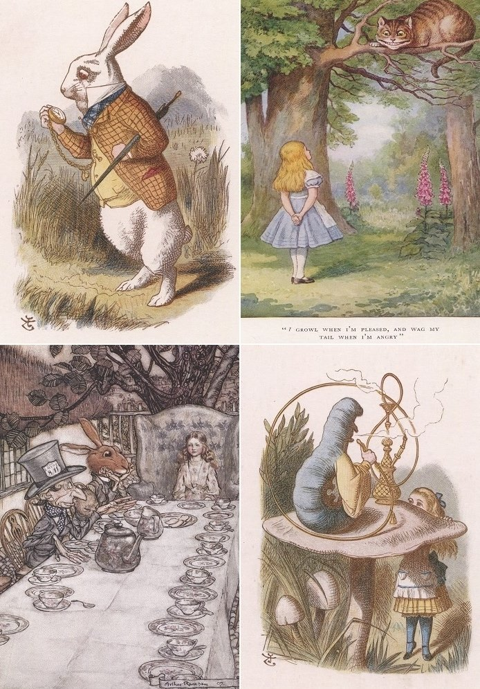 Just arrived… Alice in Wonderland greetings cards