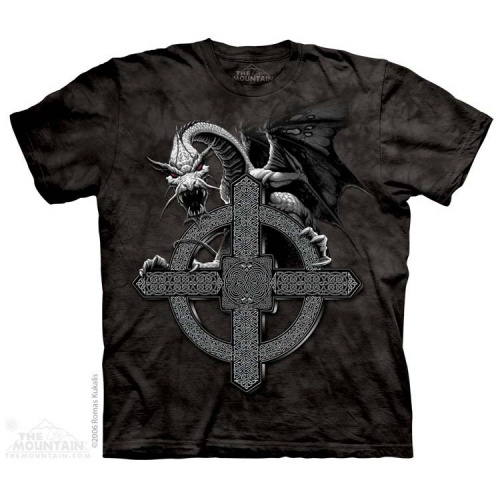 Celtic Cross Dragon T-shirt