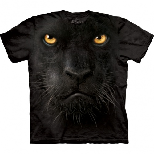 Black Panther Face Child T-shirt