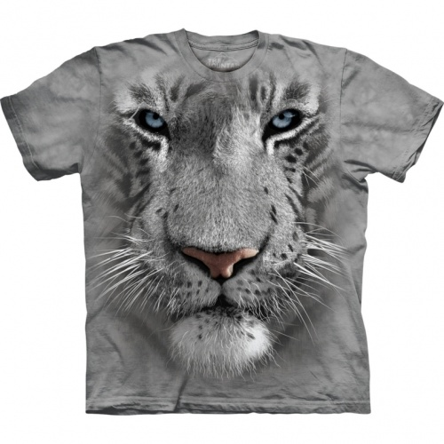 White Tiger Face Child T-shirt