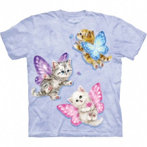 Butterfly Kitten Child T-shirt