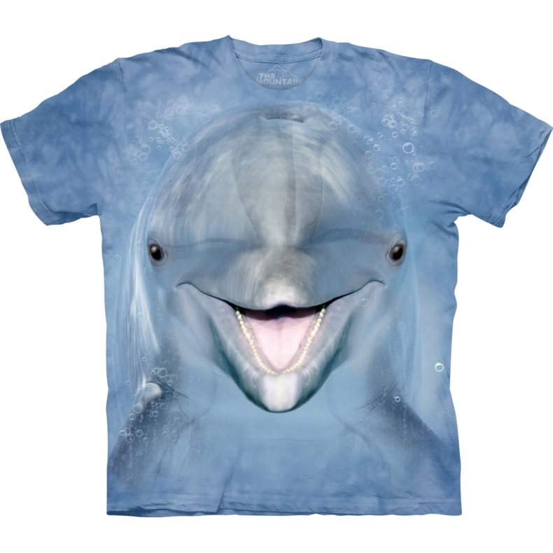 Dolphin Face Child T-shirt