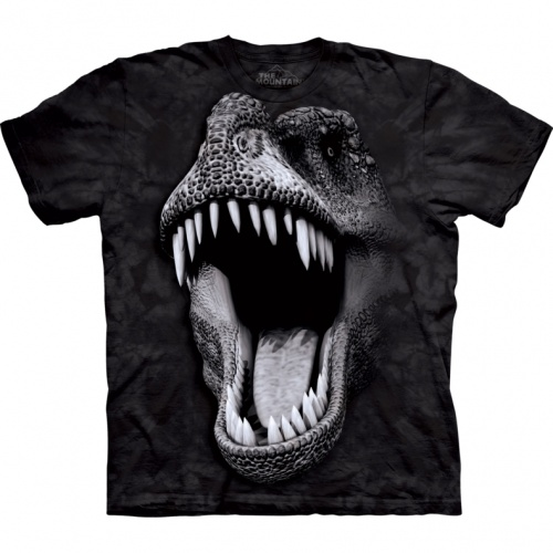 Big Face Glow Rex Child T-shirt