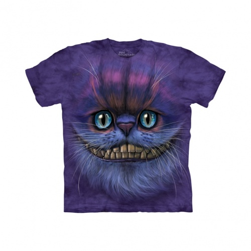 Big Face Cheshire Cat Child T-shirt