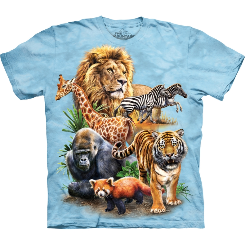 Zoo Collage Child T-shirt