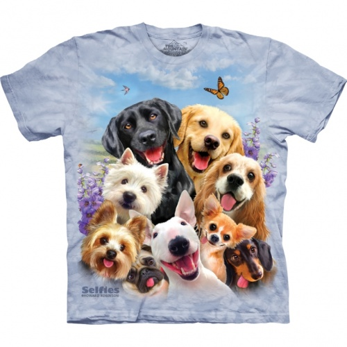 Dog Selfie Child T-shirt