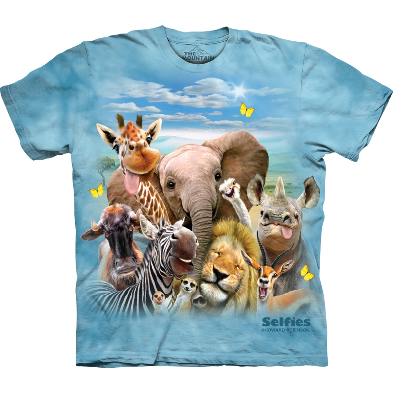 African Selfie Child T-shirt