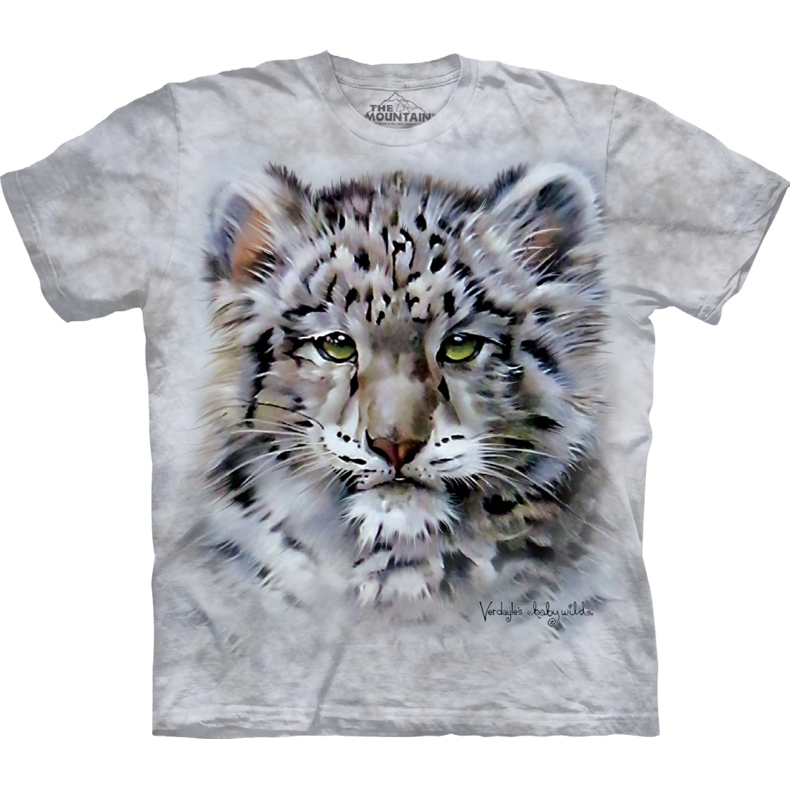 Baby Snow Leopard Child T-shirt