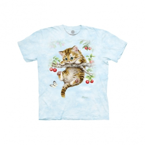 Cherry Kitten Child T-shirt