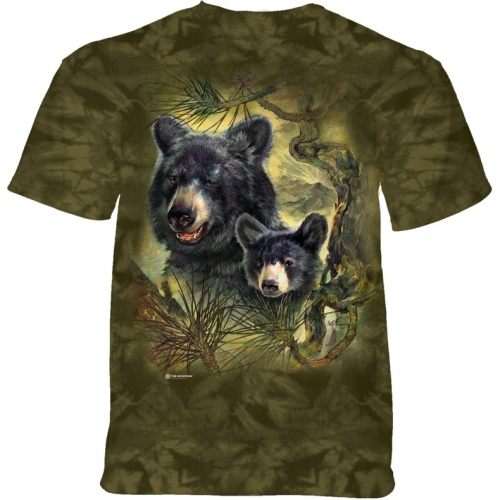 Black Bears Child T-shirt