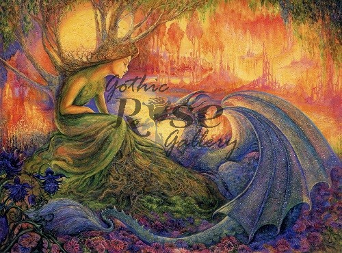 Dryad & The Dragon Thank You Card