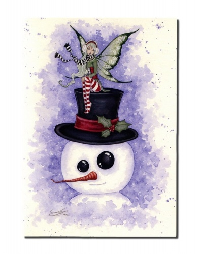 Frosty Friends Christmas Card