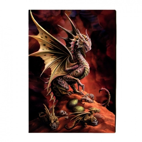 Desert Dragon Greeting Card
