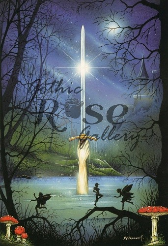 Excalibur Greeting Card