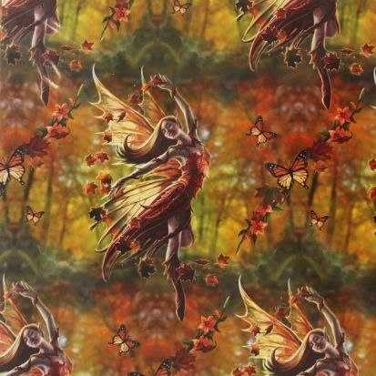 Autumn Fairy Gift Wrap Sheet 42 x 59 cm