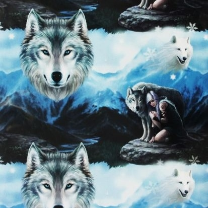 Protector Wolf Gift Wrap Sheet 42 x 59 cm