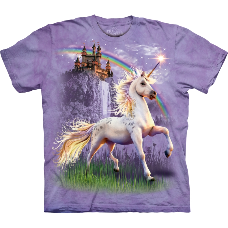 Unicorn Castle Child T-shirt