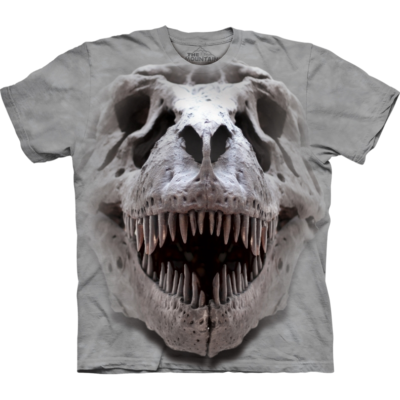 T-Rex Big Skull Child T-shirt