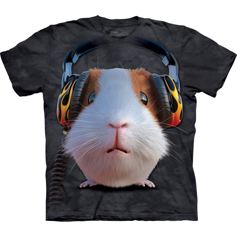 DJ Guinea Pig Child T-shirt