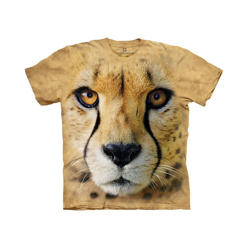 Big Face Cheetah Child T-shirt